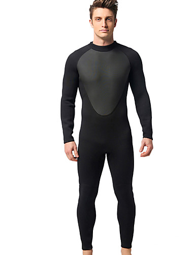 f76fd6b92e8 MYLEDI Men s Full Wetsuit 3mm Neoprene Diving Suit Waterproof Thermal   Warm  Long Sleeve Back Zip - Swimming Diving Classic Spring Summer Fall   Winter