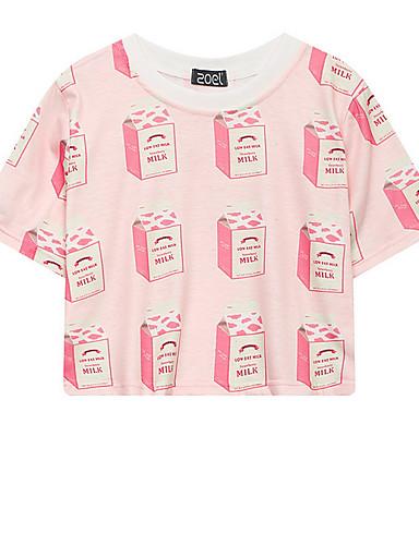 Majica s rukavima Žene Izlasci Geometrijski oblici