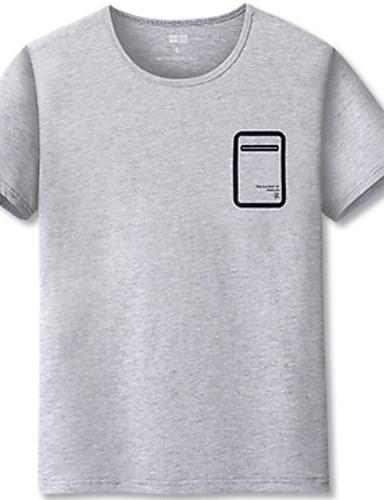 Majica s rukavima Muškarci - Osnovni Dnevno Geometrijski oblici Print