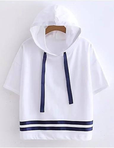 Majica s rukavima Žene - Osnovni Dnevno Pamuk Color block Kolaž / Ljeto