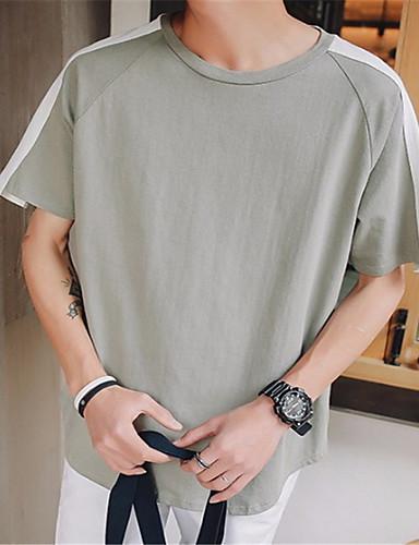 Majica s rukavima Muškarci - Osnovni Dnevno Jednobojni