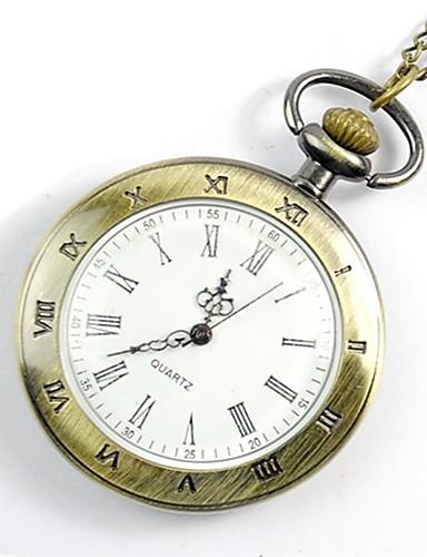 Муж. Карманные часы Часы-подвеска Цифровой Золотистый Повседневные часы Cool Аналоговый Винтаж На каждый день 1920-е года Мода Aristo - Золотой