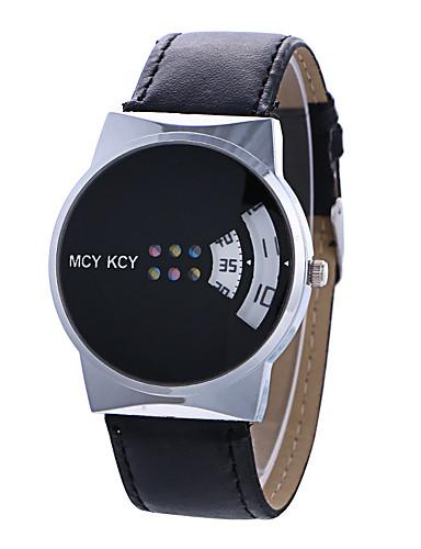 Women's Fashion Watch / Unique Creative Watch Creative Leather Band Casual Black / White / One Year / Tianqiu 377