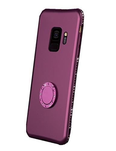 Θήκη Za Samsung Galaxy S9 / S9 Plus / S8 Plus Prsten držač / Ultra tanko / Mutno Stražnja maska Umjetno drago kamenje Mekano TPU