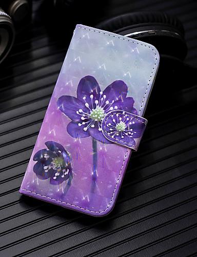 Θήκη Za Apple iPhone XS / iPhone XR / iPhone XS Max Novčanik / Utor za kartice / sa stalkom Korice Cvijet Tvrdo PU koža