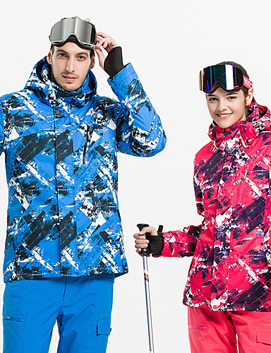 4052481d18 Vector Women s Ski Jacket Windproof Rain-Proof Warm Skiing Camping   Hiking  Snowboarding POLY Jacket Down Jacket Top Ski Wear   Winter