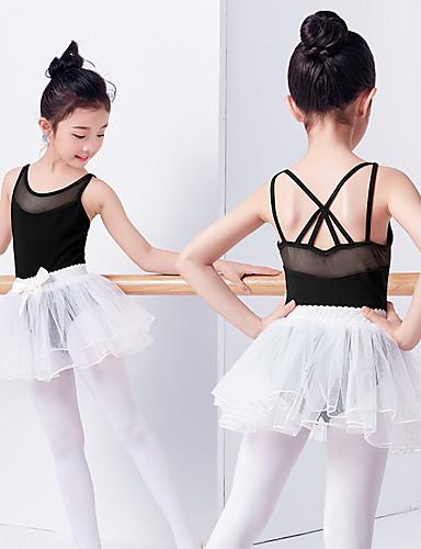 222ac6d199b64f Ballet Dresses Girls' Training / Performance Elastane / Lycra Bow(s) /  Split Joint Sleeveless Dress