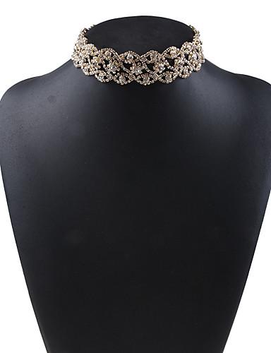 رخيصةأون مجوهرات الموضة-قلادة نسائي حجر الراين / سبيكة, أوروبي / كل الفصول