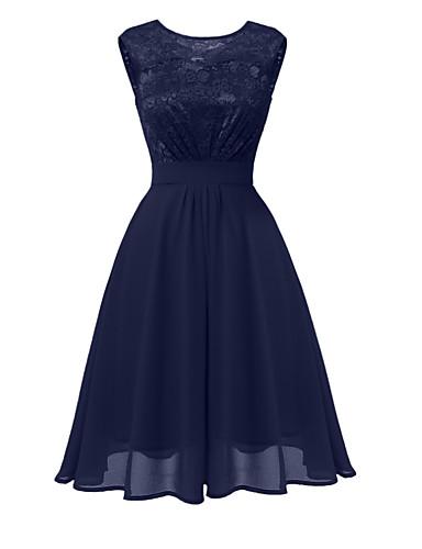 6564e5ba92d Women s Party Daily Lace A Line Dress Blue Pink Wine L XL XXL   Sexy