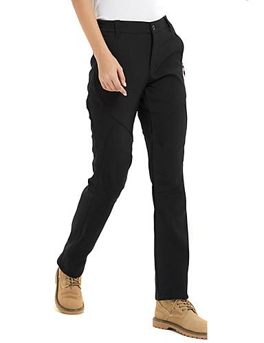 abordables Vêtements de Randonnée-Femme Pantalons de Randonnée Extérieur Coupe Vent Respirabilité Vestimentaire Hiver Spandex Pantalons / Surpantalons Randonnée Escalade Camping Noir Gris Bourgogne XL XXL XXXL - FLYGAGa