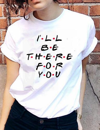 Majica s rukavima Žene - Osnovni Dnevno Jednobojni / Geometrijski oblici