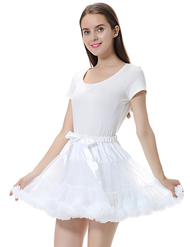 ab23936ef03 Ballet Layered Costume Women s Tutu Bubble Skirt Black   Red   Jacinth  +Gray   Fuchsia Vintage Cosplay Christmas Party Halloween Short Length  Princess ...