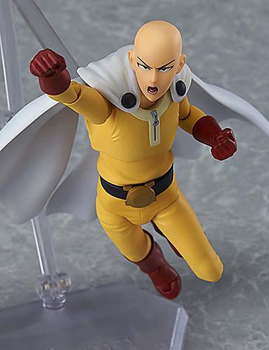 levne Cosplay a kostýmy-Anime Čísla akce Inspirovaný Jeden Punch Man Saitama PVC 16 cm CM Stavebnice Doll Toy