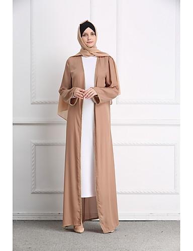 73ffb2c816f6 Γυναικεία Μπόχο Κομψό Αμπάγια Καφτάνι Φόρεμα - Μονόχρωμο