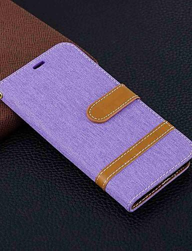 Etui Käyttötarkoitus Samsung Galaxy S9 / S9 Plus / S8 Plus Lomapkko / Korttikotelo / Tuella Suojakuori Tiili Kova tekstiili