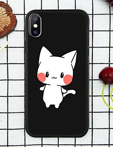 Etui Käyttötarkoitus Apple iPhone XS / iPhone XR / iPhone XS Max Kuvio Takakuori Kissa Pehmeä TPU
