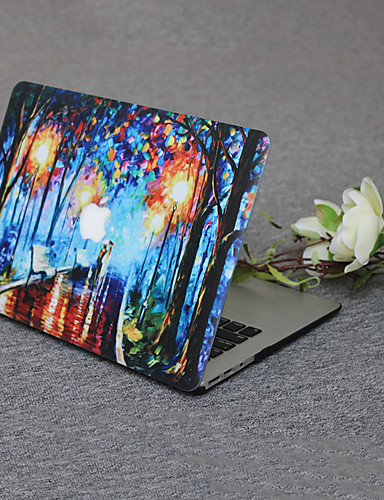 MacBook Fodral Oljemålning pvc för Ny MacBook Pro 15'' / Ny MacBook Pro 13'' / New MacBook Air 13