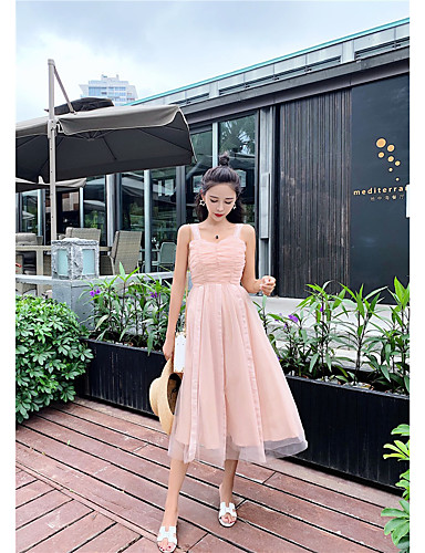 962daa7fe A-Line Sweetheart Neckline Knee Length Tulle Bridesmaid Dress with by LAN  TING Express