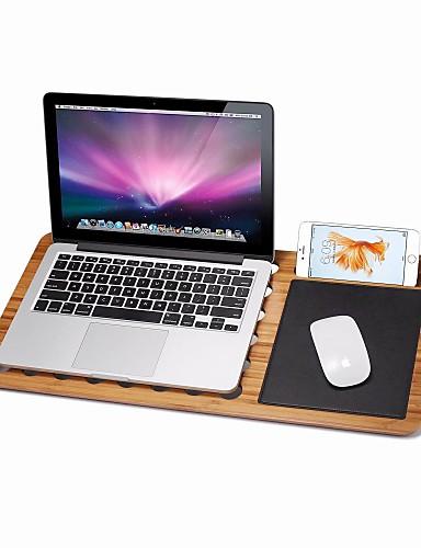 Kirjoituspöytä Kiinnitä pidike Taiteltava Säädettävä Bambu Haltija