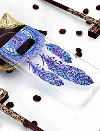 Etui Käyttötarkoitus Samsung Galaxy Galaxy S10 / Galaxy S10 Plus / Galaxy S10 E Läpinäkyvä / Kuvio Takakuori Uni sieppari Pehmeä TPU