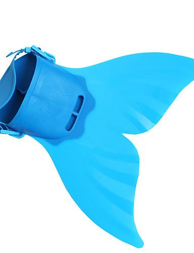 halpa Uinti-cosplay-Merenneito Aqua Princess Cosplay-Asut Poikien Tyttöjen Elokuva Cosplay Merenneito alushame Merenneito Vihreä / Sininen / Pinkki Merenneito Fishtail Halloween Masquerade TPR PP