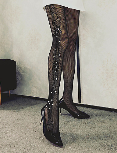caac0e19f Women s Thin Pantyhose - Floral   Sexy   Fashion 30D
