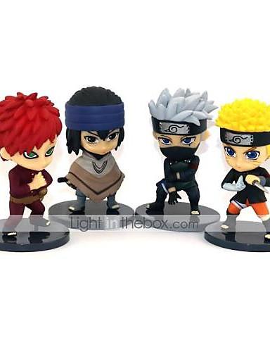 halpa Cosplay ja rooliasut-Anime Toimintahahmot Innoittamana Naruto Gaara Naruto Uzumaki PVC 8 cm CM Malli lelut Doll Toy