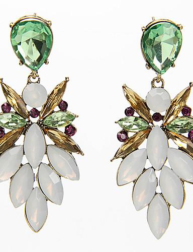 رخيصةأون مجوهرات الموضة-أقراط لون سادة نسائي أساسي