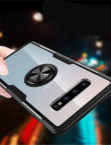 Etui Käyttötarkoitus Samsung Galaxy S9 / S9 Plus / Galaxy S10 Sormuksen pidike Takakuori Yhtenäinen Kova PC