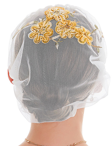 povoljno Ženski modni dodaci-Žene Cvijetni print Osnovni Poliester-Beanie Sva doba Sive boje Crvena Žutomrk