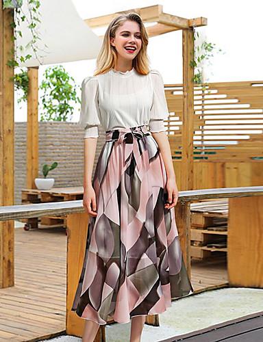f41693bead9 Γυναικεία Κούνια Βασικό Φούστες - Φλοράλ / Συνδυασμός Χρωμάτων. $25.73. USD  $17.99 · Χαμηλού Κόστους Γυναικείες ...