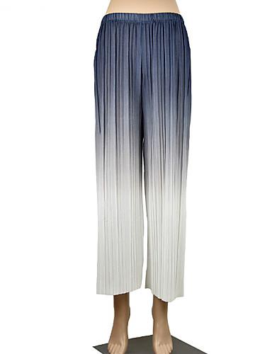 Per Donna Essenziale A Zampa Pantaloni - Multicolor Cachi #07294587 Lussuoso Nel Design