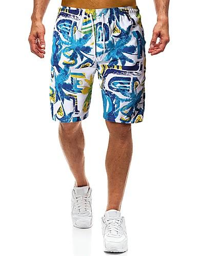 Amabile Per Uomo Boemia Chino - Pantaloncini Pantaloni - Sfumatura Blu #07235711