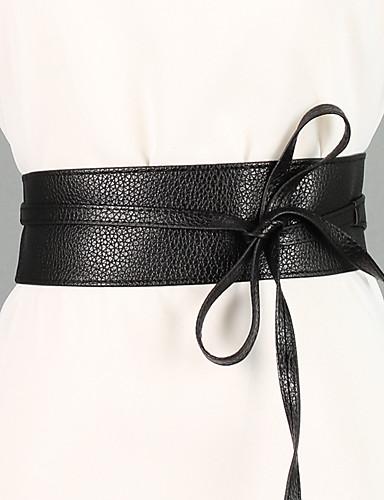 cheap Women's Accessories-Women's Cute Wide Belt - Vintage