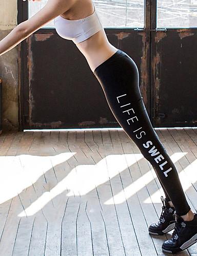 baratos Roupas de Mergulho & Camisas de Proteção-Mulheres Calça Legging de Mergulho Calças Proteção Solar UV Respirável Natação Mergulho Surfe Retalhos Verão / Micro-Elástica