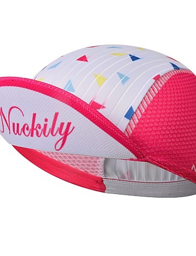 cheap Cycling Hats, Caps & Bandanas-Nuckily Cycling Cap / Bike Cap Visor UV Resistant Breathable Quick Dry Sweat-wicking Bike / Cycling Blue Pink Spandex for Men's Women's Teen Adults' Road Bike Outdoor Exercise Recreational Cycling