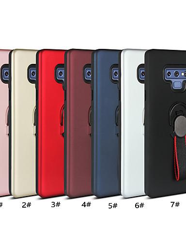 Etui Käyttötarkoitus Samsung Galaxy Note 9 / Note 8 / Note 5 Sormuksen pidike Takakuori Yhtenäinen Pehmeä TPU