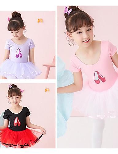 16ad8dff5 Ropa de Baile para Niños   Ballet Vestidos Chica Rendimiento 100% Algodón  Lentejuela Leotardo   Pijama Mono
