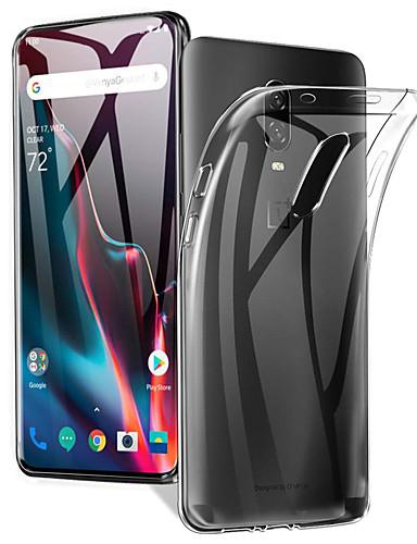 מגן עבור OnePlus אחת פלוס 7 / אחד פלוס 7 Pro אולטרה דק / מזוגג כיסוי אחורי אחיד רך TPU