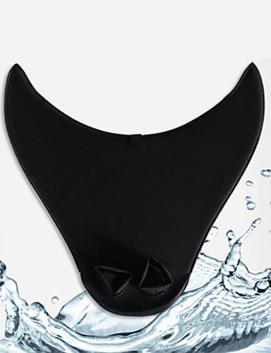 abordables Surf, Plongée & Snorkeling-Palmes de plongée Palmes de natation Portable Sirène Respirable Natation Plongée Snorkeling Nylon Néoprène PC - pour Adultes Enfants Noir