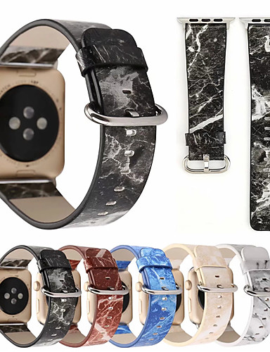 צפו בנד ל Apple Watch Series 4/3/2/1 Apple רצועת ספורט עור רצועת יד לספורט