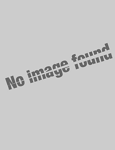 abordables Hauts pour Femmes-Tee-shirt Femme, Bloc de Couleur / Mode / Teinture par Nouage Imprimé Elégant Col en V Bleu / Printemps / Eté / Automne