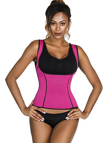 בגדי ריקוד נשים לא מוזכר מחוך מעל החזה - אחיד / אופנתי, תחרה / ספורטיבי / מסוגנן שחור סגול פוקסיה XL XXL XXXL