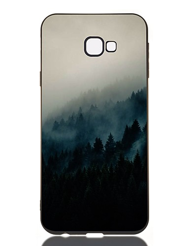 Pouzdro Uyumluluk Samsung Galaxy J7 (2017) / J6 (2018) / J5 (2017) Şoka Dayanıklı / Buzlu / Temalı Arka Kapak Manzara TPU