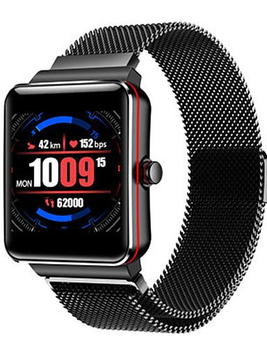 Erkek Spor Saat Dijital Modern Stil Stortif 30 m Su Resisdansı Bluetooth Smart Dijital Günlük Dış Mekan - Siyah Siyah / Gümüş Siyah / Kırmızı