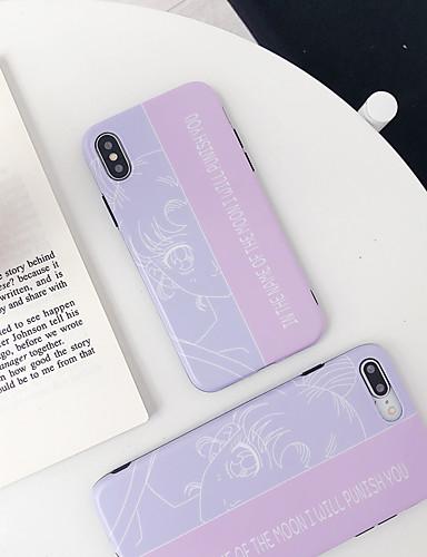 Pouzdro Uyumluluk Apple iPhone XS / iPhone XR / iPhone XS Max Şoka Dayanıklı / IMD / Temalı Arka Kapak Karton TPU