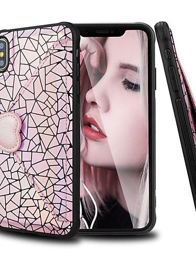 Pouzdro Uyumluluk Apple iPhone XS / iPhone XR / iPhone XS Max Temalı Arka Kapak Geometrik Desenli TPU