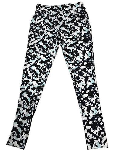 abordables Pantalons Femme-Femme Bohème / Sophistiqué Mince Joggings Pantalon - Multicolore / Camouflage Blanche Bleu Arc-en-ciel S M L