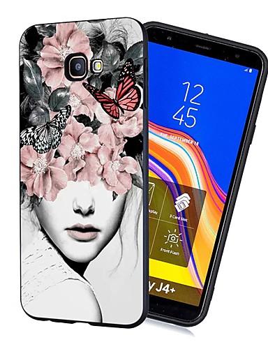 Samsung galaxy j4 (2018) / j6 (2018) desen / buzlu / darbeye dayanıklı arka kapak seksi bayan yumuşak tpu galaxy için j4 artı (2018) / j6 artı (2018) / m10 / m20 / m30 / j330 / j530 / j730 / j2 pro