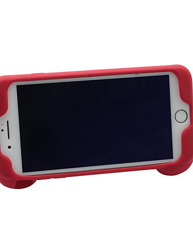 케이스 제품 Apple iPhone 8 / iPhone 7 / iPhone 6s 충격방지 / 스탠드 뒷면 커버 솔리드 실리카 젤